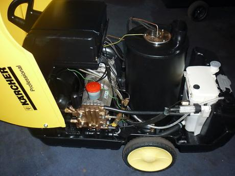 Reconditioned Karcher HDS745 Eco internal view